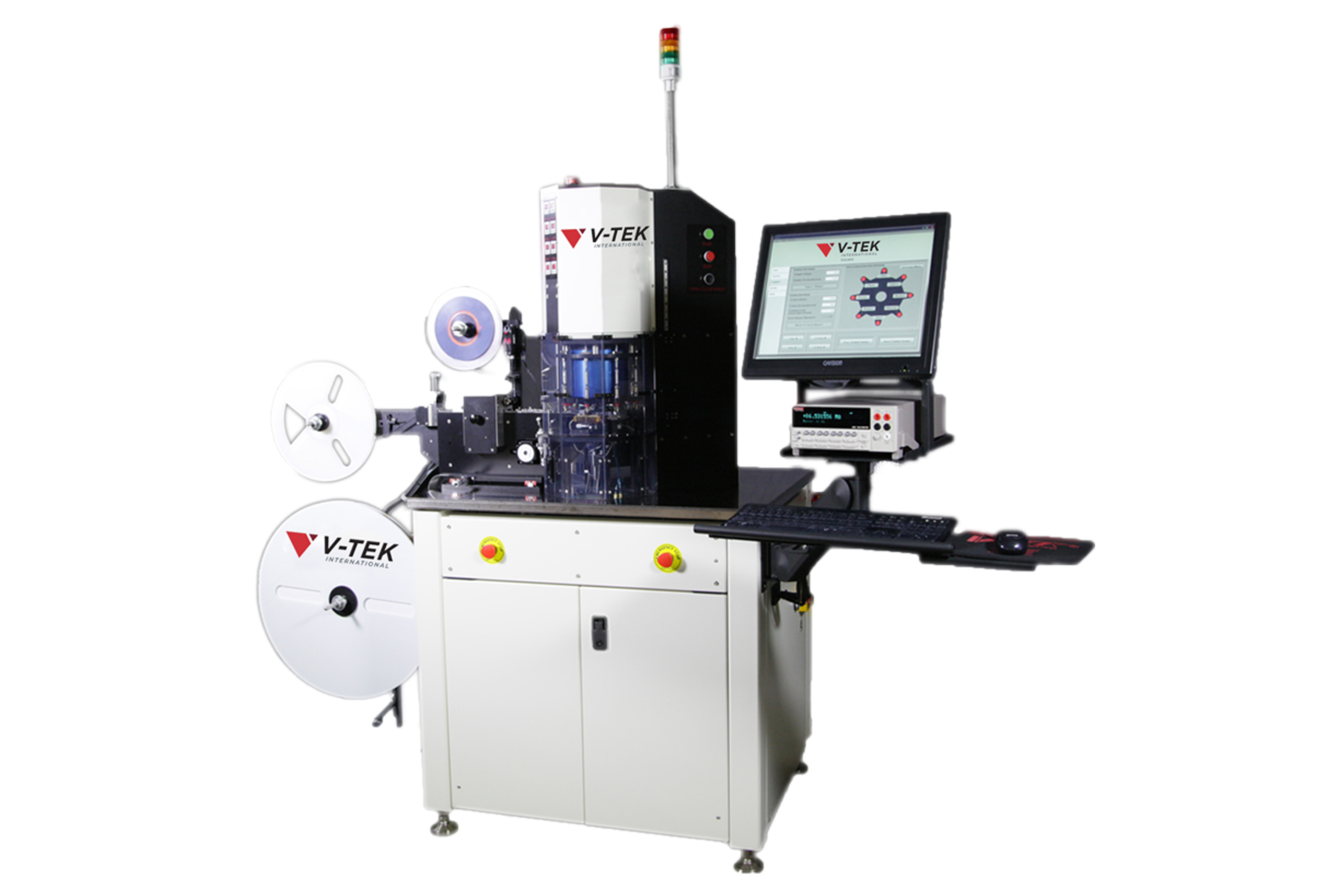 The TM-700 Automatic Taping Machine
